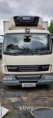 2013 DAF LF45,160 CARRIER SUPRA FRIDGE FREEZER EURO-5 7.5t ROLLER DOOR TAIL LIFT