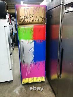 Aga (williams) Commercial Single Door Freezer- Custom Painted In Multi Color