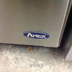 Atosa 2 door counter freezer, commercial