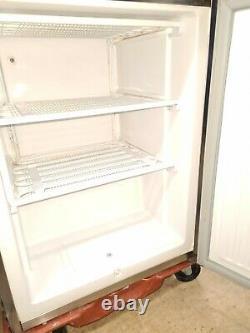 BLIZZARD COMMERCIAL STAINLESS STEEL SINGLE DOOR UNDER COUNTER Freezer