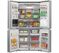 BRAND NEW Hi-Sense RQ758N4SWI1 (91cm wide x 178cm tall) 4 Door Fridge Freezer