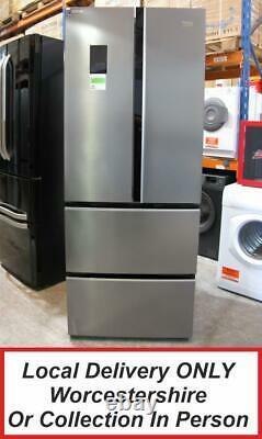 Beko GNE490E20PX Stainless Steel Multi-Door American Fridge Freezer PFA