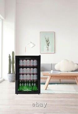 Brand New Igloo Tropical Mini Glass Door Under Counter Bar Fridge 70 Litres