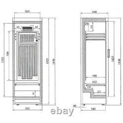 Brand New Interlevin Sc381b Glass Door Drinks Display Fridge Bottle Chiller