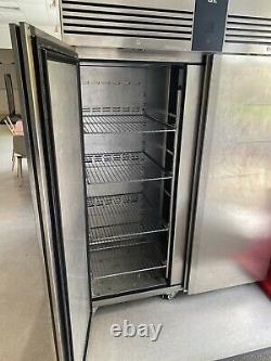 Commercial Foster Freezer Double Door Eco Pro Stainless Steel