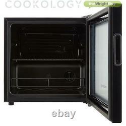 Cookology BC46BK 48cm Glass Door Beverage Cooler in Black