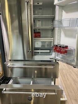 Ex Display Bertazzoni Fridge Freezer REF90X freestanding French door appliance