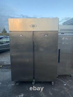 FOSTER Double Door Upright Stainless Steel Commercial Freezer
