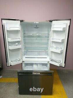 Fisher & Paykel RF522ADB4 3-Door 70/30 Fridge Freezer, 79cm Wide, Black Steel #75