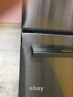 Fisher & Paykel RF522ADB4 80cm American 3 Door French Fridge Freezer Black Steel