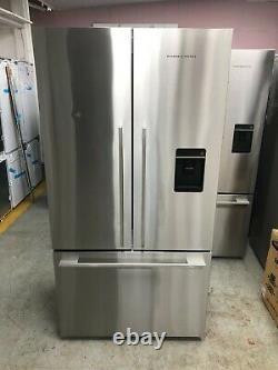 Fisher & Paykel RF540ADUX4 90cm American 3 Door Fridge Freezer Stainless Steel