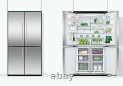 Fisher & Paykel RF605QDVX1 Freestanding Quad Door Stainless Steel Refrigerator F