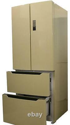 French style slim cream, AGA Cream Shade 4 door fridge freezer Bespoke