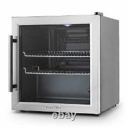 Fridge Cooler Refrigerator Beer Mini Bar Hotel Home Office Glass Door 50 Litre