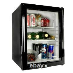 Frostbite Glass Door Mini Bar 35L Counter Fridge Suitable for Milk Overnight