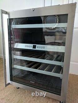 Gaggenau Wine Cooler Fridge RW404260/05 Dual Zone Stainless Steel Glass Door
