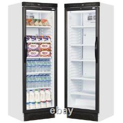 Glass Door Shop Drinks Merchandiser Fridge Single Door Sc381 & Next Day Delivery