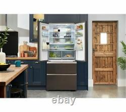 HAIER Multi-Door HB18FGSAAA Fridge Freezer Iconic Glass Currys