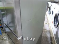 Haier HB15FPAA Stainless Steel Silver 4-Door Fridge Freezer 70cm Wide PFA AO G