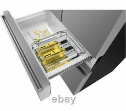 Hisense RF540N4WI Multi Door Total No Frost Fridge Freezer Stainless Steel