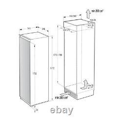 Hisense RIL391D4AW1 Integrated Upright Fridge Sliding Door Fixing Kit Whi