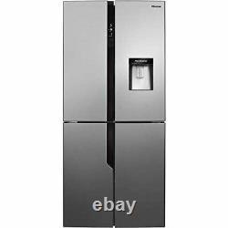 Hisense RQ560N4WC1 80cm Free Standing American Fridge Freezer Cross Door Total