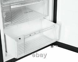 Hotpoint Day 1 FFU3DGK Black 70cm 3 Door Total No Frost Fridge Freezer