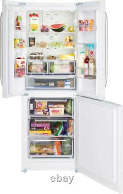 Hotpoint Day 1 FFU3DW1 White 70cm 3 Door Total No Frost Fridge Freezer