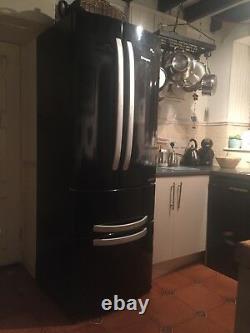 Hotpoint Quadrio FFU4DGK A+ 4 Door Frost Free Fridge Freezer in Gloss Black