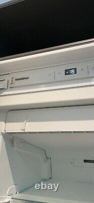 Integrated Gaggenau freezer