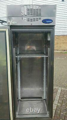 Interlevin single door freezer commercial stainless steel for catering