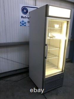 Isa upright single door display freezer Frozen commercial catering shop Ice