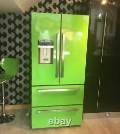 KFD4952XD American Style Four Door Fridge Freezer Bespoke retro lime