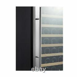 Kalamera Wine Refrigerator 50 Bottle Compressor Stainless Steel Door KRC52ASS