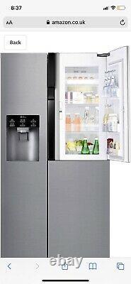 LG Door-in-Door GSJ560PZXV American Fridge Freezer Steel F Rated #287368