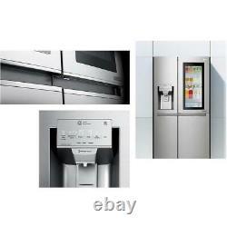 LG ELECTRONICS GSX960NSVZ InstaView Door-in-Door American Style Fridge Freezer