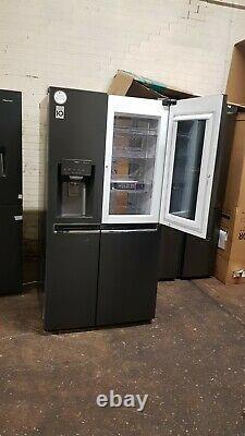 LG GSX960MCCZ InstaView Door-in-Door 91cm Frost Free American Fridge Freezer