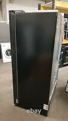 LG GSX960MCCZ InstaView Door-in-Door American Fridge Freezer Matte Black