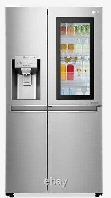 LG GSX960NSVZ Door-in-Door American Style Fridge Freezer A++ Silver
