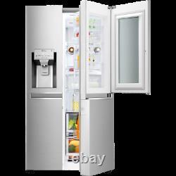 LG GSX960NSVZ InstaView Door-in-Door 91cm Frost Free American Fridge Freezer