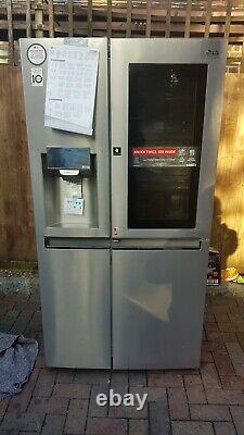LG GSX961NSVZ InstaView Door-in-Door American Style Fridge Freezer A++ Silver