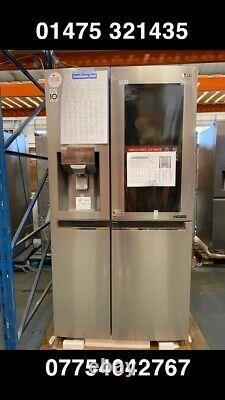LG InstaView Door-in-Door GSX960NSVZ Wifi American Fridge Freezer, S/Steel