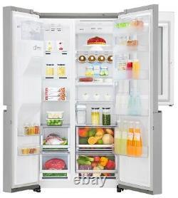 LG Instaview Door-In-Door Non Plumbed GSX961NSVZ American Style Fridge Freezer