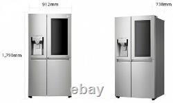 LG Instaview Door-In-Door with DoorCooling+GSX961NSVZ American Fridge Freezer