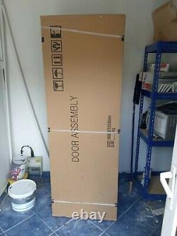 Lg Fridge Freezer Brand New Silver Door