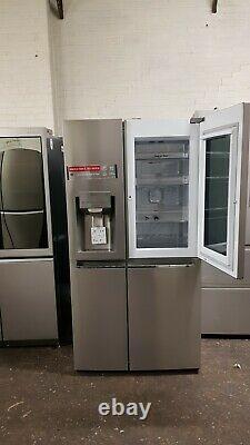 Lg Gsx961nsaz Instaview Door-in-door Stainless Steel American Fridge Freezer