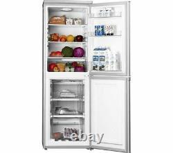 Logik Lfc50s20 50cm 50/50 Fridge Freezer 189l Frost Free Reversible Door- Silver