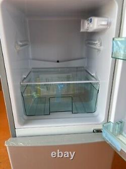 MINI Refrigerator Fridge Freezer Class A +115 Lt Double Door Grey 94 CM
