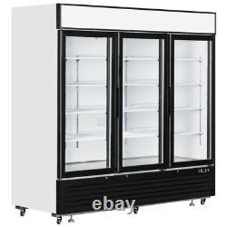 New 3 Door Wallsite Glass Door Display Freezer For Farm Shop Convenience Store