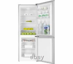 New Essentials C50bs20 50cm 60/40 165l Fridge Freezer Reversible Door Silver